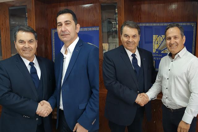 Ο Δ. Καμπόσος ανακοίνωσε επίσημα τους Χ.Σελλή και Δ. Ζαχαριά