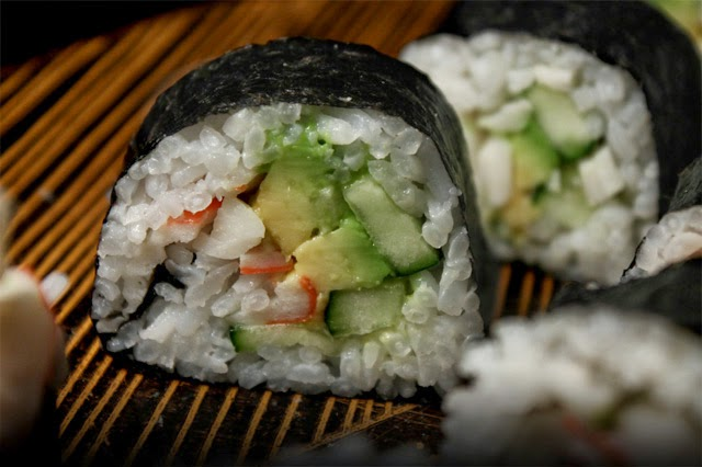 The 99 Cent Chef: California Roll - Sushi Recipe Video