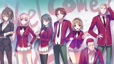 جميع حلقات انمي Youkoso Jitsuryoku Shijou Shugi no Kyoushitsu e مترجم عدة روابط