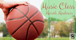 Music Class March Madness: An idea for positive behavior management in March. Includes a freebie!