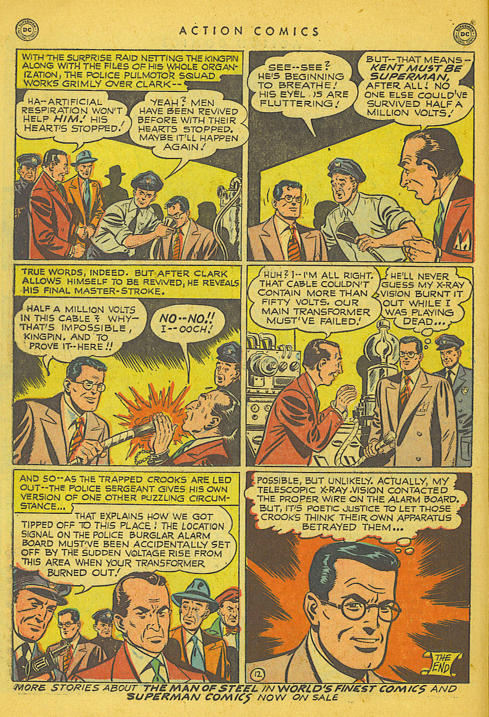 Action Comics (1938) 153 Page 12