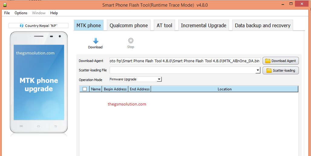 Smart Phone Flash Tool 4 8 0 Full Version Supports MediaTek