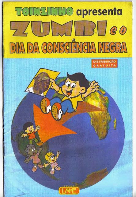 Dia da consciência negra ( História em quadrinhos )