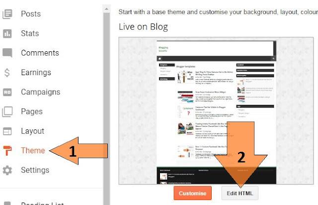 Blogspot Blogger Ka Template Kaise Change Kare
