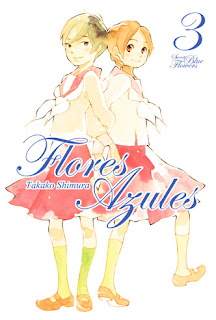 FLORES AZULES 3  Manga de Takako Shimura