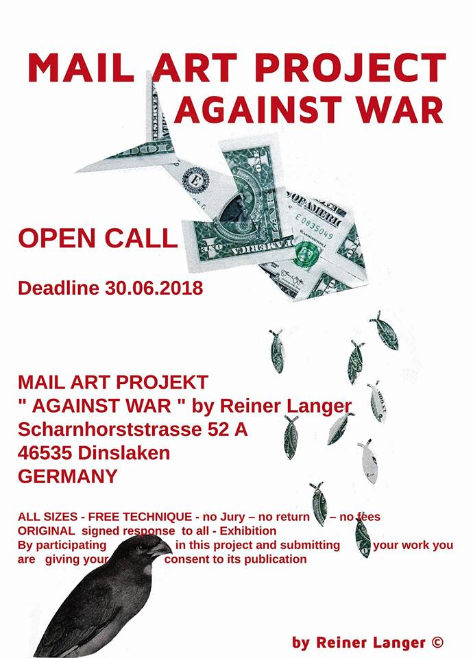 Mail Art Projects Mail Art Project Against War Germany