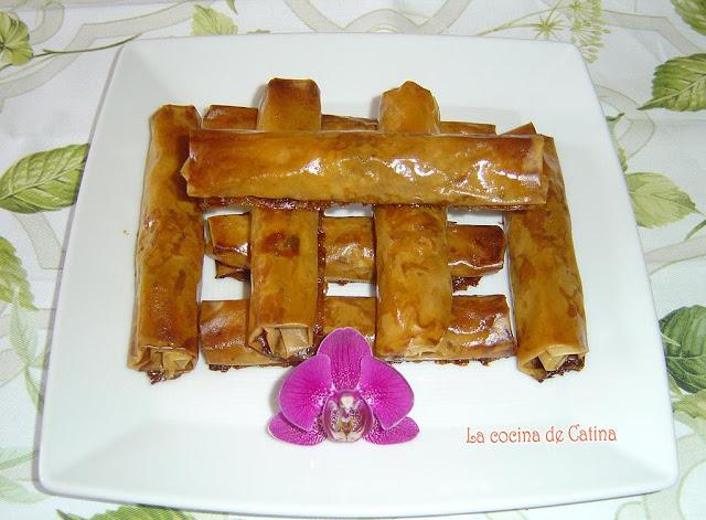 Rollitos del desierto la cocina de catina - Restaurante la cocina del desierto ...