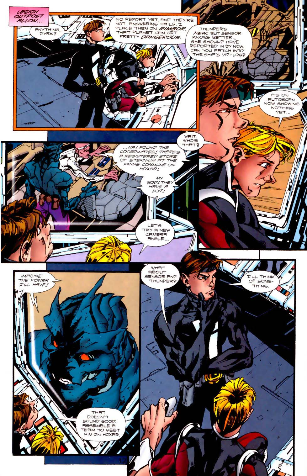 Legion of Super-Heroes (1989) 116 Page 12