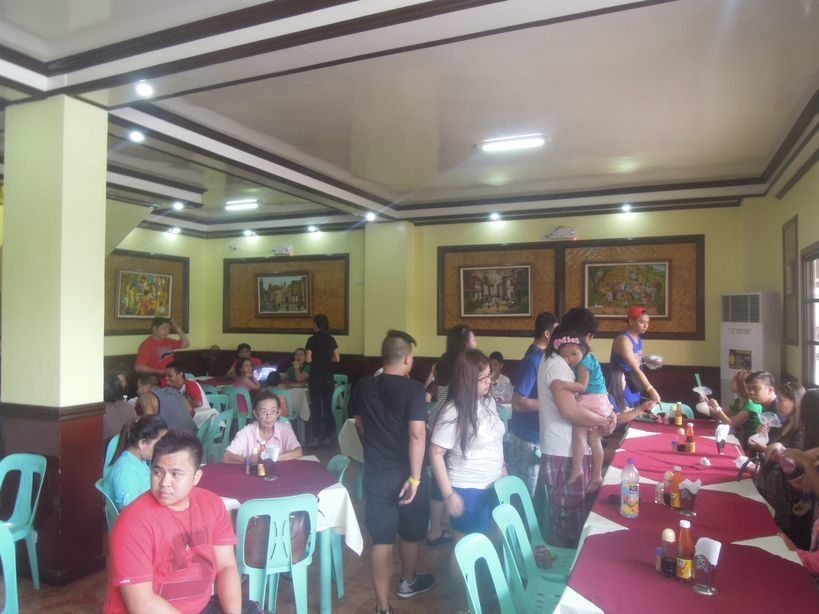 The interiors of Lolo Claro's Restaurant