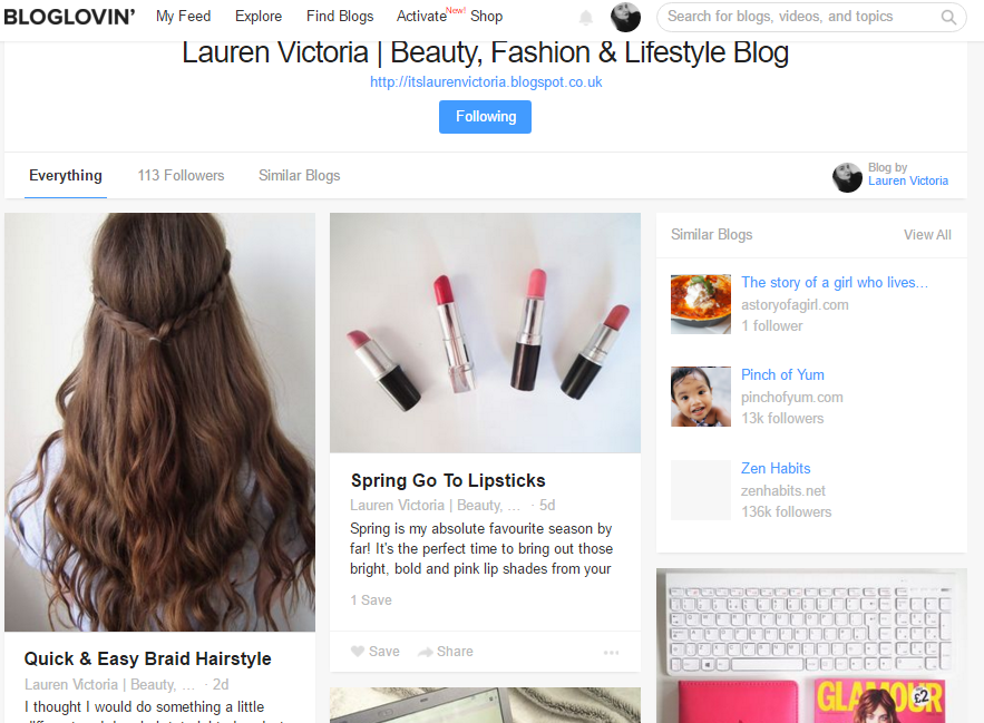 Getting The Most Out Of Bloglovin