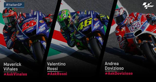hasil kuaifikasi gp Italias, motoGP italia, pole vinales, vinales pole on gp italia