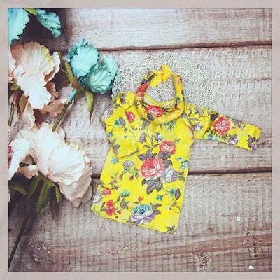 áo dài cách tân cho bé mẫu mới 2018