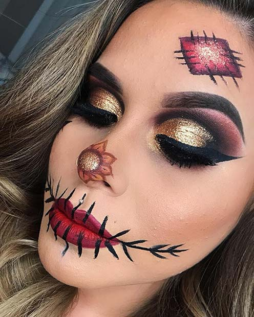 22 Latest Scarecrow Halloween Makeup Ideas Life Trends