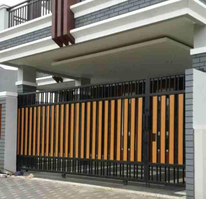 Pintu Pagar Besi Pagar Rumah Minimalis - Rumah Joglo Limasan Work
