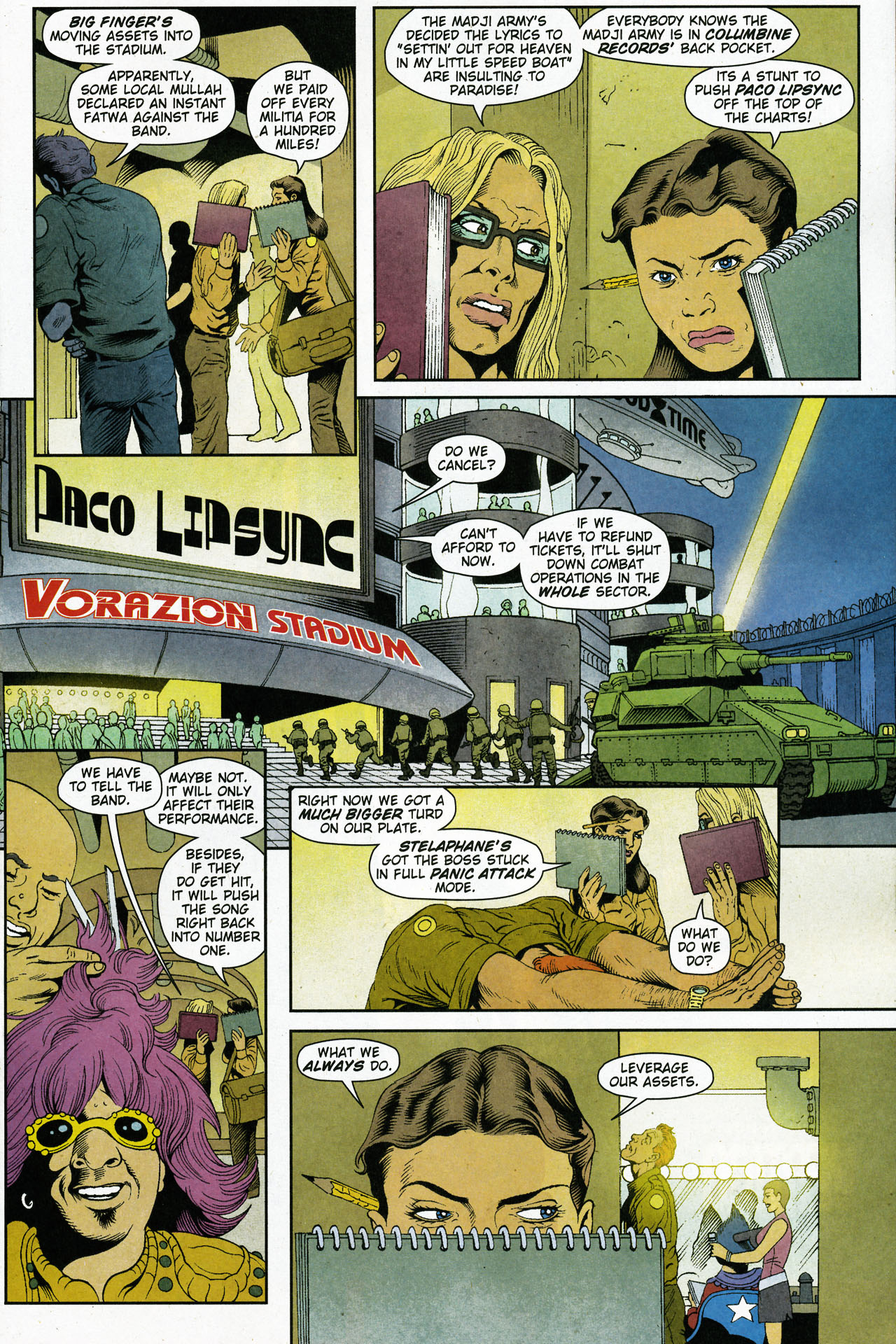 Read online Army @ Love comic -  Issue #5 - 9