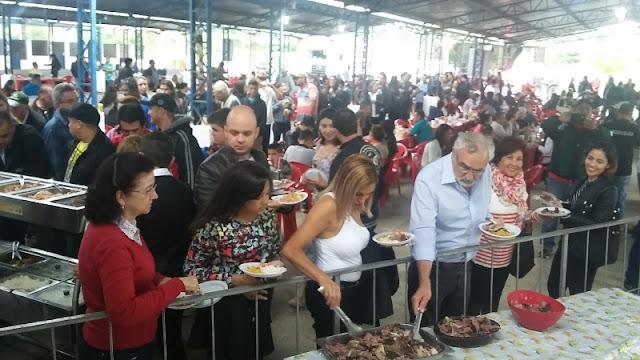 CHURRAS VALE FEST: MAIS DE 1 TONELADA DE CARNES PREPARADAS E SUCESSO DE PÚBLICO