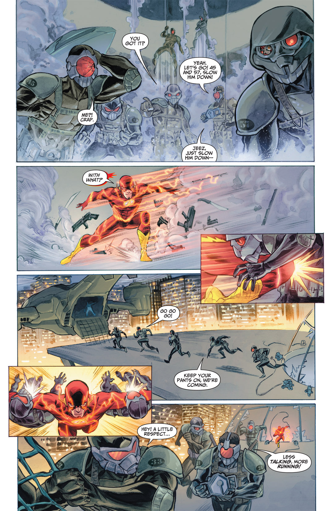 Read online The Flash (2011) comic -  Issue #1 - 8