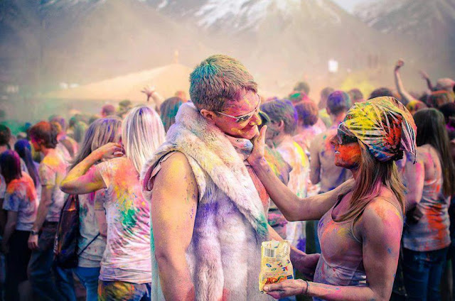 Picture Of Holi Festival