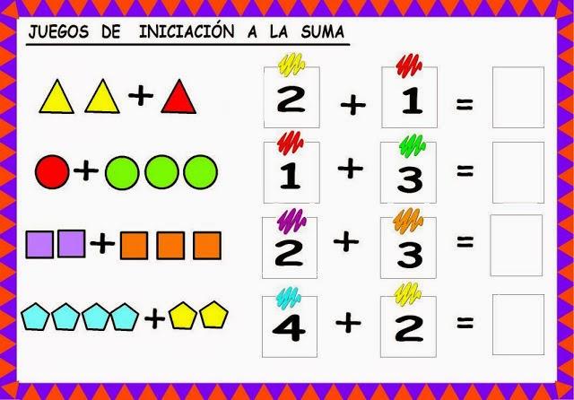 Juegos Para Iniciar A Tus Hijos En Las Matematicas Material Para