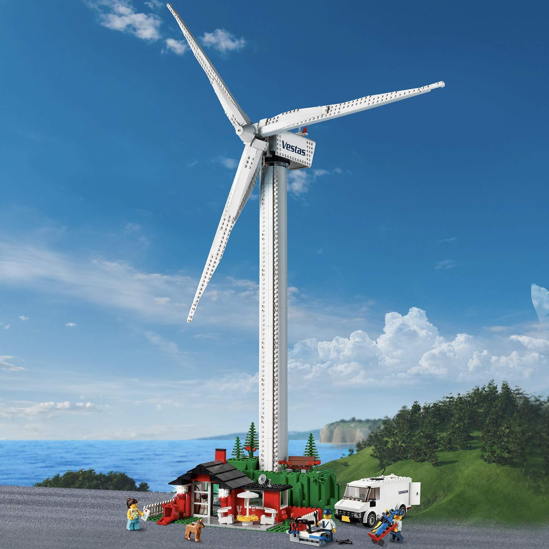 Delphinus Dreams: Build A Working Lego Windturbine