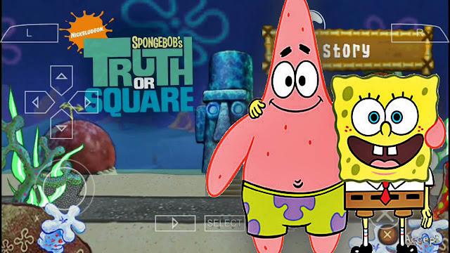 حصريا تحميل لعبة سبونج بوب Spongebob الممتعة لمحاكي Ppsspp