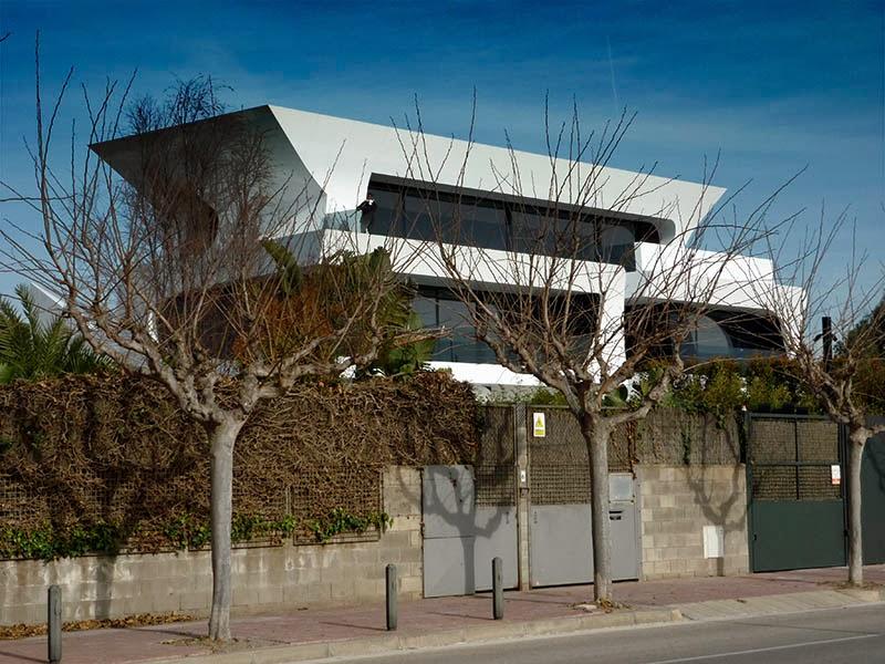 El blog del gran uribe casa de victor vald s - Casas gava mar ...