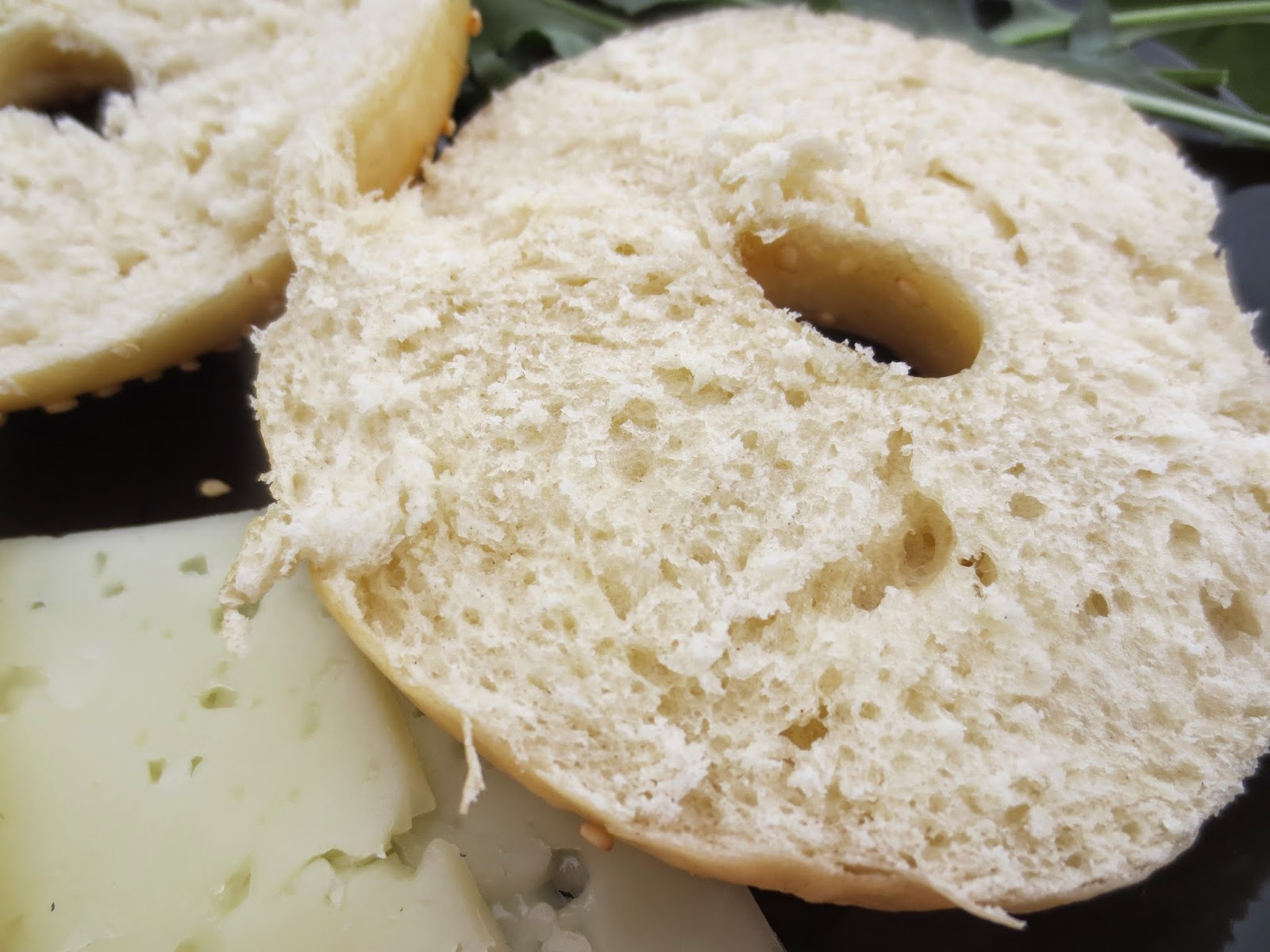 Corte bagels con thermomix