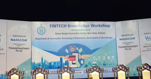 Arana At FINTECH knowledge Workshop, Organized By Dept of IT, Govt. of West Bengal