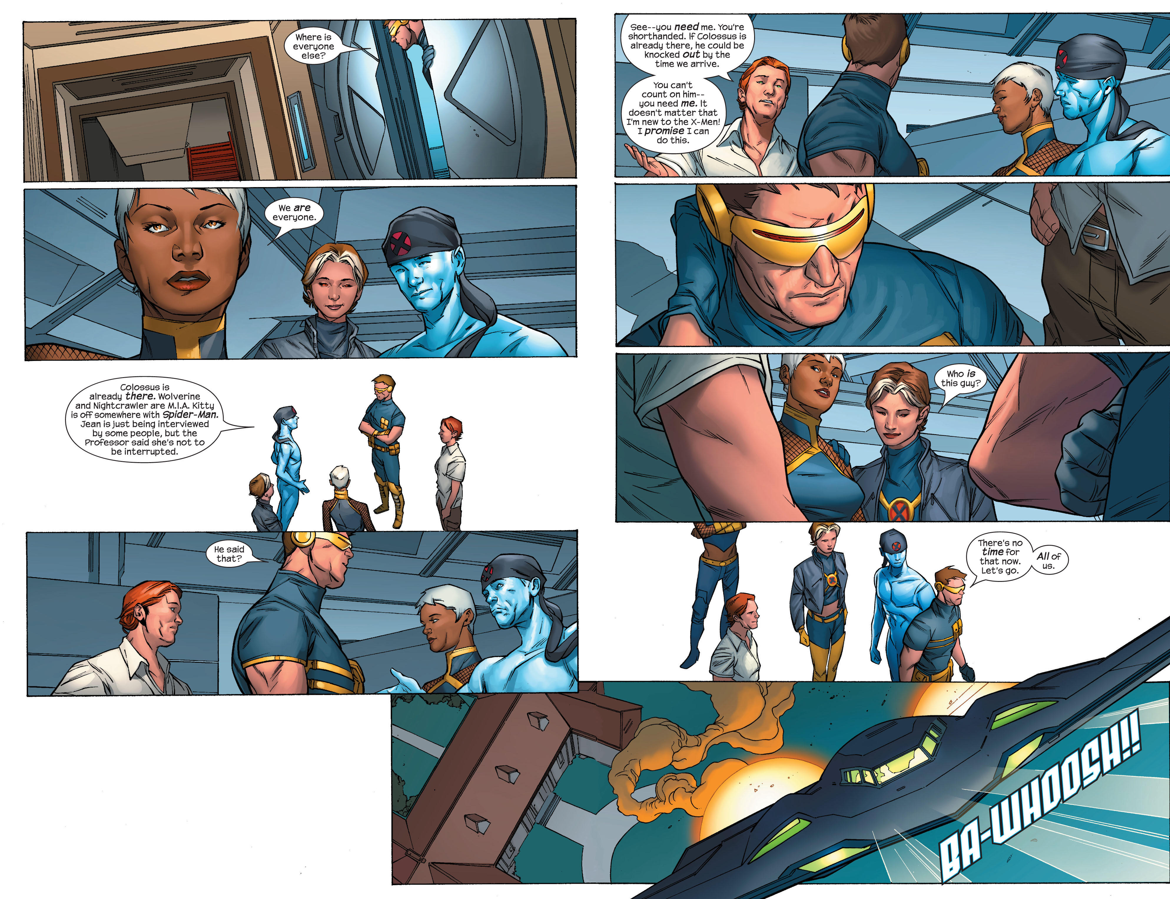 Read online Ultimate X-Men comic -  Issue #70 - 5