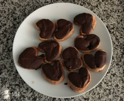 palmeras de chocolate