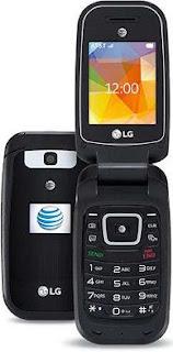AT&T LG B470 PHONE