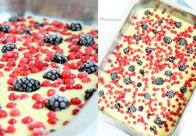 Egyszerű kefíres gyümölcsös pite