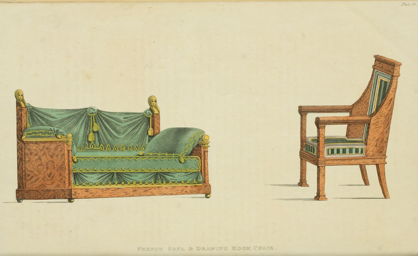 Ekduncan My Fanciful Muse Regency Furniture 1809 1815