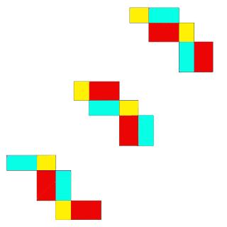 Bangun Matematika sanggup dibagi menjadi dua bentuk yaitu bangkit datar dan bangkit ruang 54 Gambar Jaring Jaring Balok