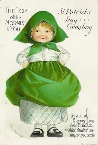 st patrick day girl