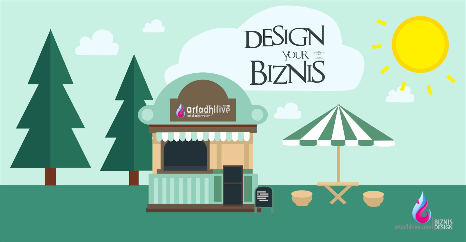 Melihat bisnis dari sudut pandang design