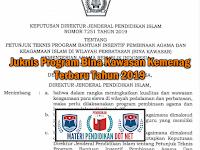 Juknis Program Bina Kawasan Kemenag Terbaru Tahun 2019