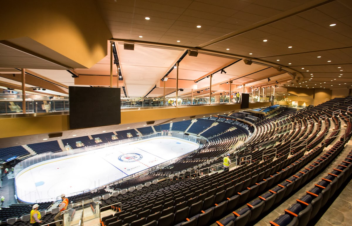 Madison Square Garden: New Sky Bridge Seats At Madison Square Garden