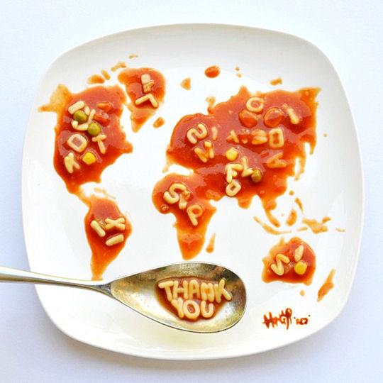 Une Vie De Stagiaire: De L'art Dans Les Assiettes
