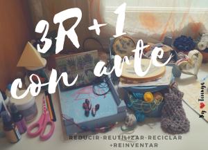 3R + 1 con arte: reciclar libros