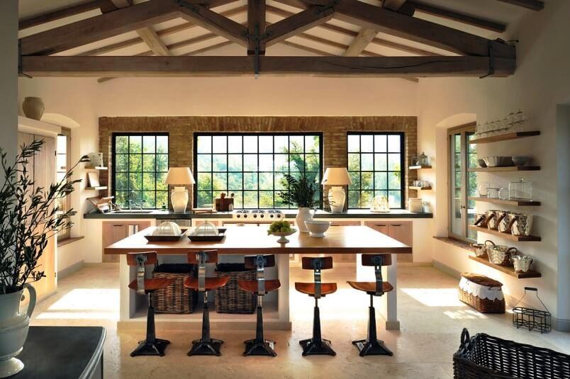 Beautiful Modern Clic Italian Villa with Tuscan Style ... on