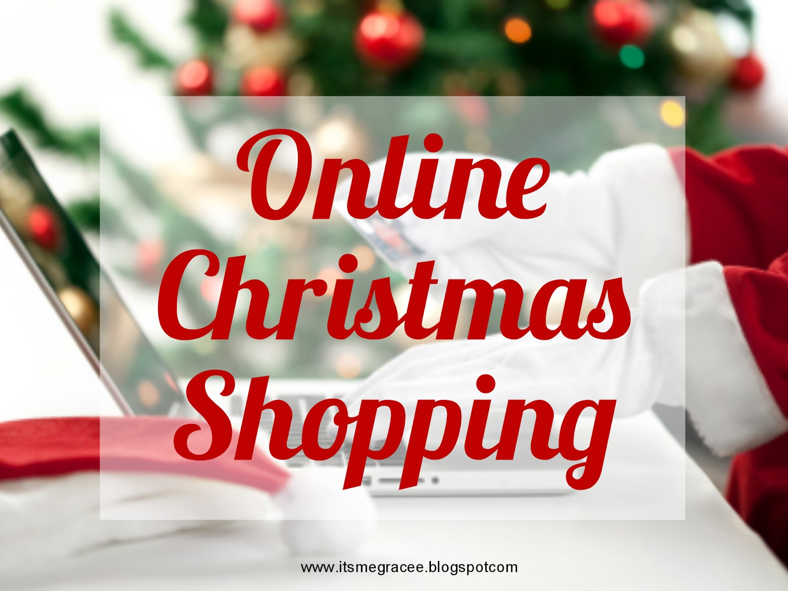 Christmas Shopping Online