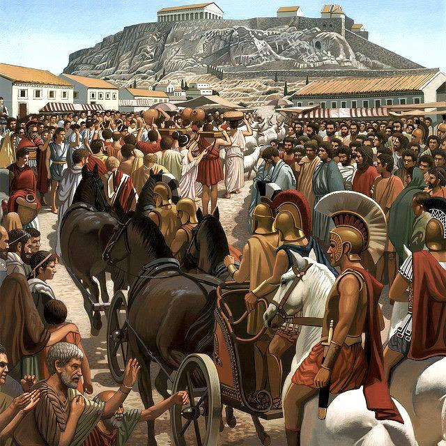 Οι Αθηναίοι ως Πελασγοί