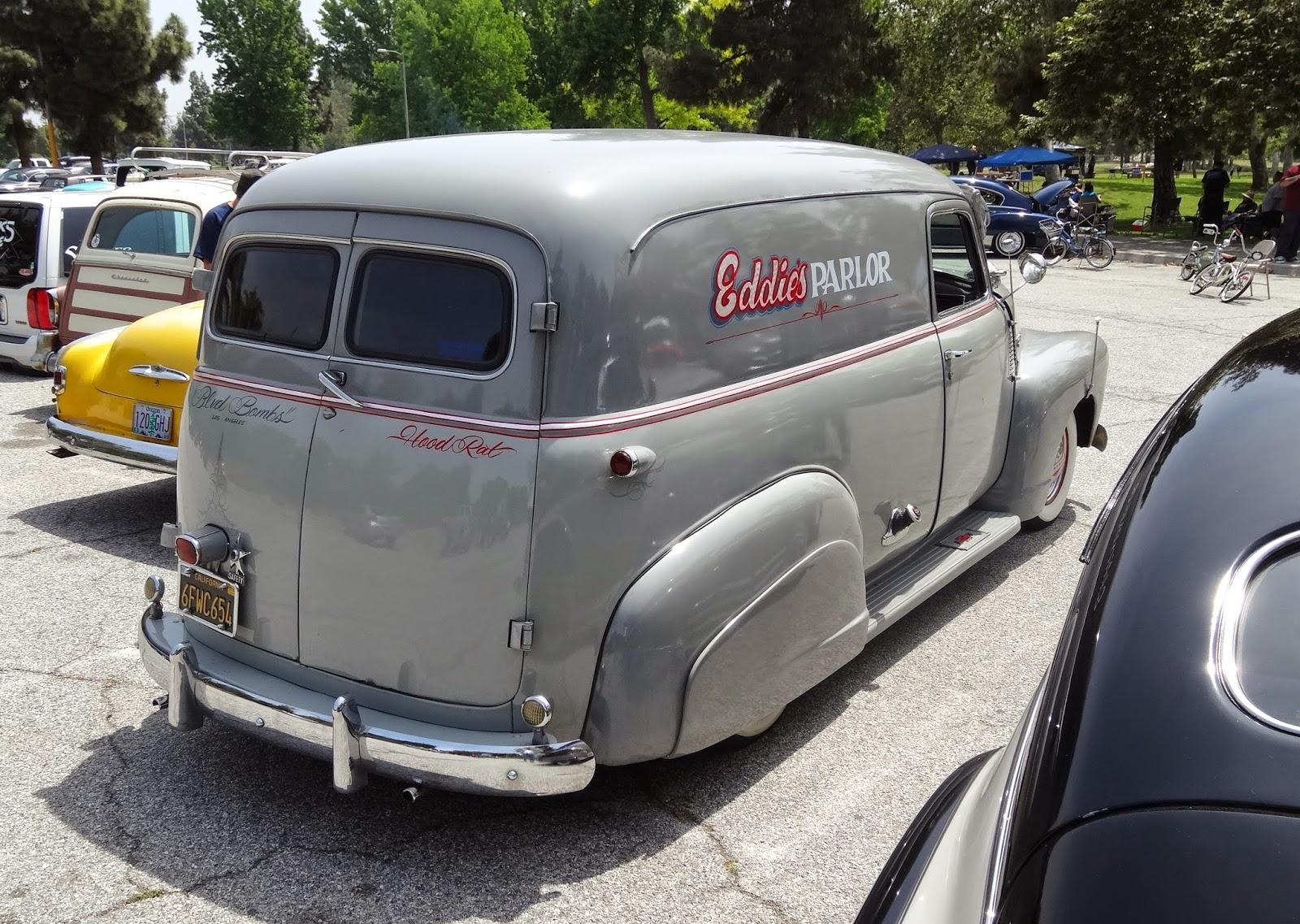 Truck 1949 chevy panel truck : Nostalgia on Wheels: 1949 Chevy 1/2 Ton Panel Truck