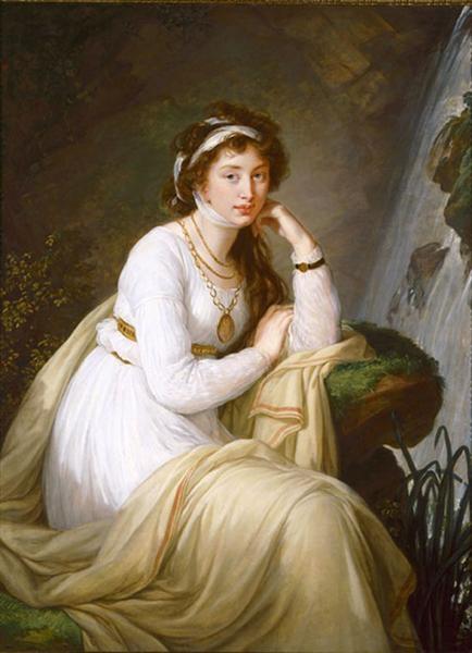 Élisabeth-Louise Vigée-Le Brun Толстая Анна Ивановна