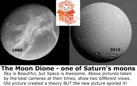 Scientists could be wrong too, Curious Case of Dione | Hands On Science, Electronics, Robotics, Maths, Puzzles and more