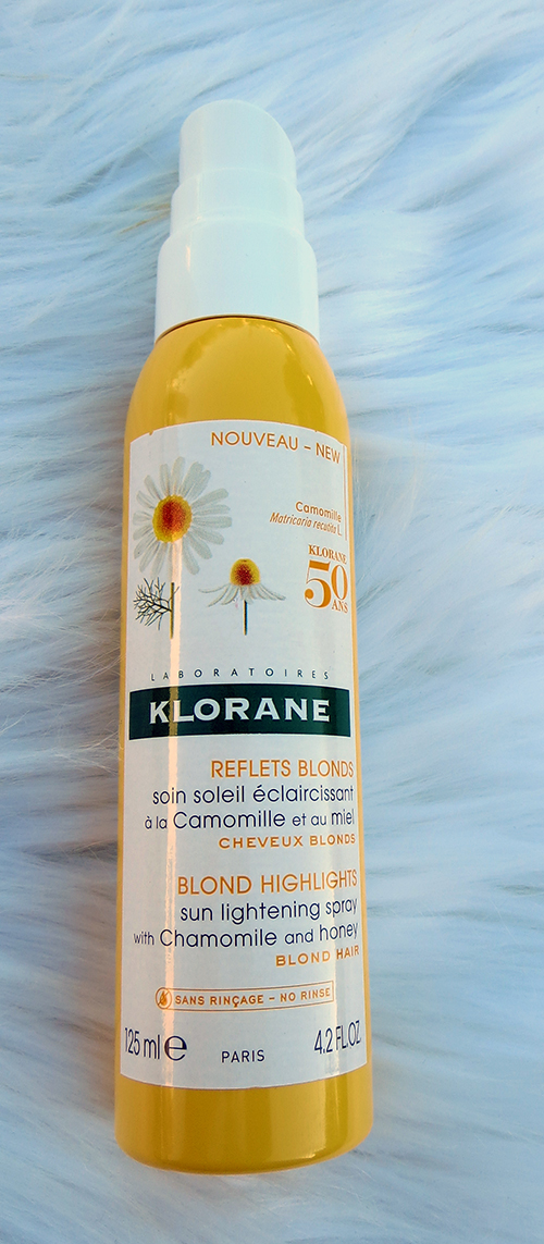 Klorane Blonde Highlights Sun Lightening Spray ~ #Review