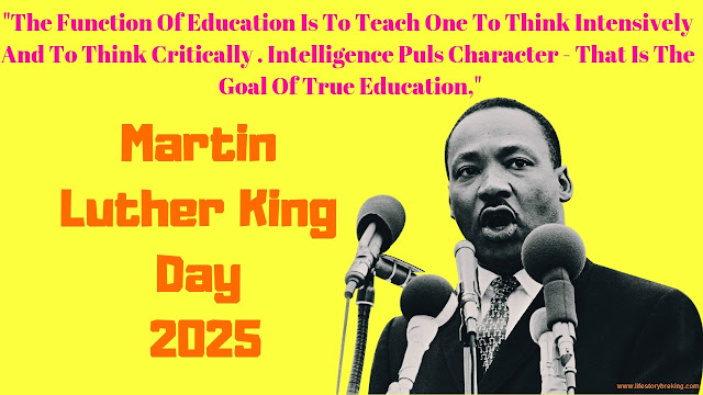 Martin Luther King Day in 2025