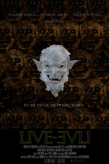 Theatrical poster for LIVE-EVIL (2015)
