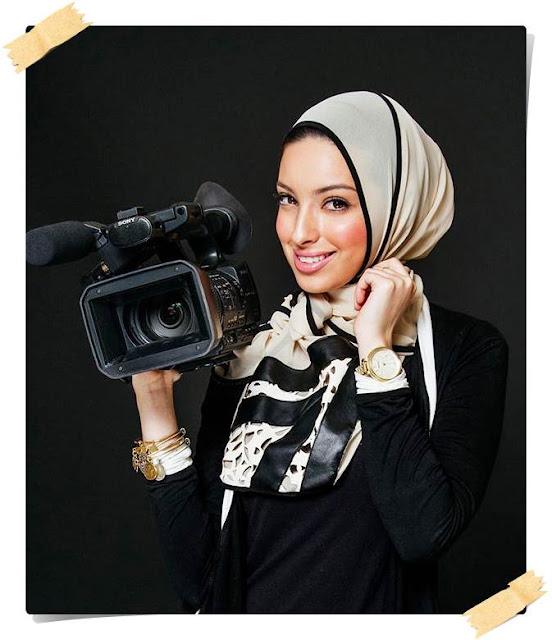 Stiri NOOR TAGOURI jurnalista musulmana